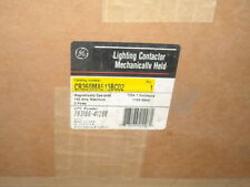 NEW GE CR360M100A Mechanically Held Lighting Contactor