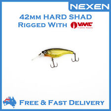 NEXEN Hardbody Shad Bream Bass Lure for Saltwater Freshwater as Zipbaits