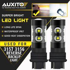 2X AUXITO Daytime Running Light REVERSE Bulb 3157 3057 3457 White LED DRL EOA