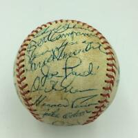 1973 Oakland A's Athletics World Series Champs Team Signed Baseball With JSA COA