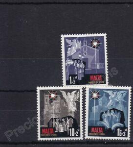MALTA MNH STAMP SET 1970 CHRISTMAS SG 444-446