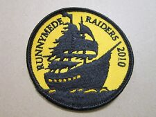 Runnymede Raiders 2010 Cloth Patch Badge Boy Scouts Scouting L5K G