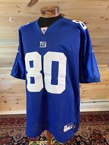 NWOT Reebok Official NFL #80 Giants Jeremy Shockey Sewn Football Jersey 56 3XL