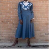 1970s Gunne Sax Prairie Maxi Dress