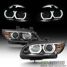 Hidxenon 2007-2010 Bmw E92 E93 328i 335i Coupe F32 Style Led 3d Halo Headlights