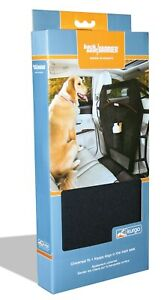 Kurgo Backseat Barrier - Vehicle Pet Dog Car Divider With Cup Holder - Black