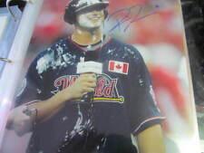 Rene Tosoni Minnesota Twins Signed 8x10 Photo COA