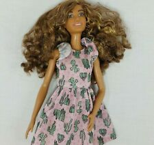 DOLLED UP DENIM  /& # 67 Cactus PRINT DOLL ZIG /& ZAG BARBIE FASHIONISTAS 3