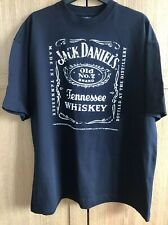 JACK DANIELS T Shirt Top Medium BLACK GENUINE Jack's Birthday Tee Top
