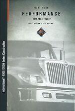 Truck Brochure - International - 4000 7000 series Construction Dump 2001 (T1839)
