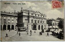Cartolina Formato Piccolo - Milano - Teatro Della Scala Viaggiata
