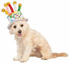 Birthday Cake Hat Cute Fancy Dress Up Halloween Pet Dog Cat Costume Accessory