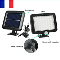 56 LED Lampe Solaire PIR Capteur Mouvement Projecteur Jardin Extérieur Eclairage