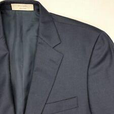 John W Nordstrom Men's 100% Loro Piana Wool Navy Blue • 42 Long