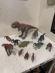 2000 Disney Dinosaur Film CARNOTAURUS Working Lights Sound Figure Aladar LOT