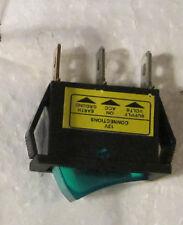 Dorman  Illuminating Green rocker switch 20 amp (LOT of 5 rockers one money)