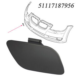 Front Bumper Towing Eye Hook Cover For BMW 3 Series E92 E93 06-09 51117187956