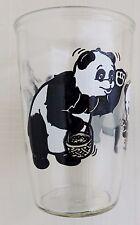 1960's Penn Maid Sour Cream Glass with Panda