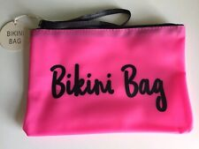 Pink Beach Bikini Bag