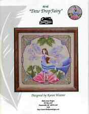 BLACK SWAN DESIGNS DEW DROP FAIRY Cross Stitch Pattern Discontinued Design RARE