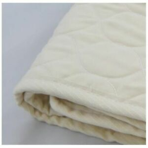 """100% Organic Cotton Fully Quilted Machine Wash/Dry Pad - Mini Cradle 15 x 33"""""""