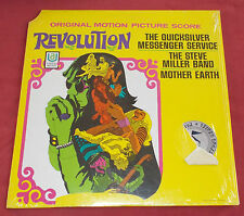 REVOLUTION  LP US REED BOF OST QUICKSILVER  STEVE MILLER  MOTHER EARTH