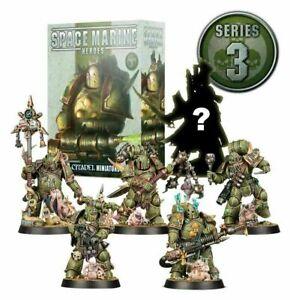 Warhammer 40k 40000 GW Space Marine Heroes Series 3 Death Guard Choose NEW