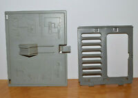 "VINTAGE GI JOE TERROR DROME PARTS LOT JAIL DOOR & WALL HATCH ARAH 3.75"" HASBRO"