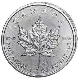Kanada 5 Dollars 2020  Maple Leaf 1 oz 9999 Silber / AG