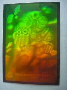 MARVEL UNIVERSE 1994 Hologram WAR MACHINE #3 special chase card Fleer