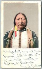 BUCKSKIN CHARLIE SUB CHIEF OF THE UTES INDIANS 1905 ANTIQUE UNDIVIDED POSTCARD