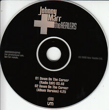 JOHNNY MARR & THE HEALERS Down On The Corner 2003 UK 2-trk promo test CD