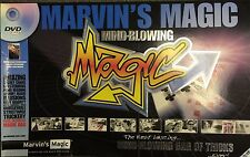 Marvin's Magic Kit Mind Blowing Set Bag of Tricks Illusions Stunts with DVD New