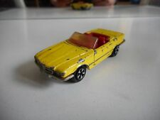 Majorette Mercedes 350 SL in Yellow