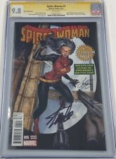 Marvel Spider Woman #5 Signed by Stan Lee & Siya Oum CGC 9.8 SS Spider-Man MCU
