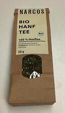 50g Narcos Bio Hanf-Tee 100% Natur Produkt