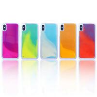 Quicksand Luminous Glitter Phone Case For iPhone 11 Pro X XR XS Max 8 7 6 Plus