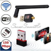 Mini USB WiFi WLAN 150Mbps Wireless Network Adapter 802.11n/g/b Dongle NEW 2018
