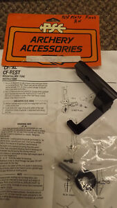 NEW PSE CF Fixed Arrow Rest  Plate 2363 RH Flite Series Bow