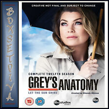 GREYS ANATOMY - COMPLETE SEASON 12  *BRAND NEW DVD**
