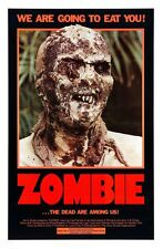 "Zombie, Movie Poster Replica 13x19"" Photo Print"