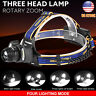 15000LM Rechargeabl 18650 3x Cree T6 LED Headlamp Headlight Flashlight Lamp Kits