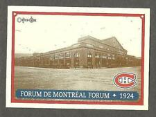 1993 OPC Fanfest Puck Canadiens' Montreal Forum, c.1924