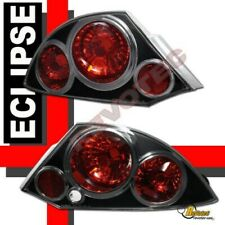 Black Tail lights Lamps For 2000-2005 Mitsubishi Eclipse RH + LH