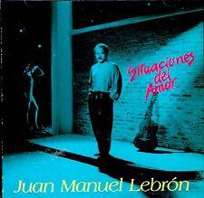 Juan Manuel Lebron   Situaciones de Amor BRAND  NEW SEALED  CD