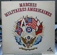 Rare LP -  MARCHES MILITAIRES AMERICAINES - Désiré Dondeyne - Serp disques 1972