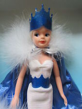 RARE VINTAGE 1986 PEDIGREE BEAUTIFUL SNOW PRINCESS SINDY DOLL MIB BOXED