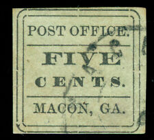 MOMEN: US STAMPS CSA #53X8 USED PF CERT