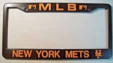 *New* New York Mets MLB License Plate Frame Made of Heavy Plastic
