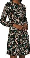 Dorothy Perkins Stem Floral Empire Fit and Flare Dress Size UK 10 New With Tags